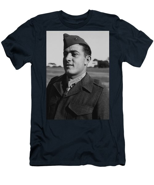 John Basilone Men's T-Shirt (Athletic Fit)