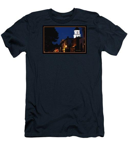 Men's T-Shirt (Slim Fit) featuring the photograph Joneborough Tennessee 11 by Steven Lebron Langston