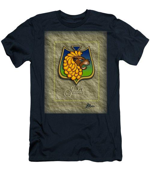 Judah Shield Shirt Men's T-Shirt (Athletic Fit)