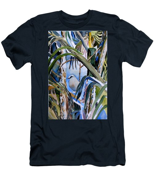 Just Being Men's T-Shirt (Slim Fit) by Mindy Newman