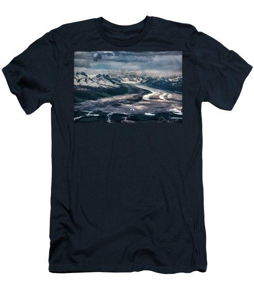 Kahiltna Glacier Men's T-Shirt (Athletic Fit)
