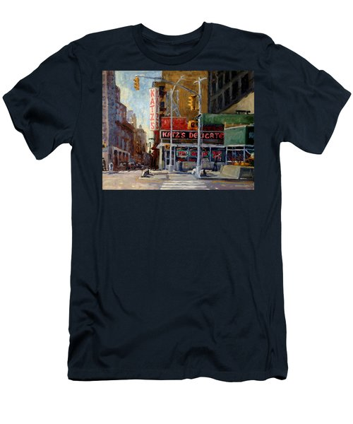 Katz's Delicatessen, New York City Men's T-Shirt (Athletic Fit)