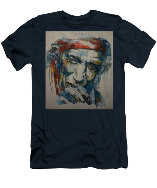 Keith Richards Art Men's T-Shirt (Athletic Fit)