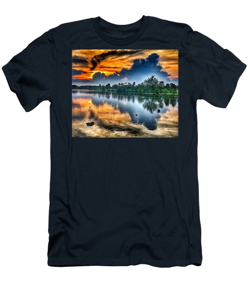 Men's T-Shirt (Slim Fit) featuring the photograph Kentucky Sunset June 2016 by Sumoflam Photography