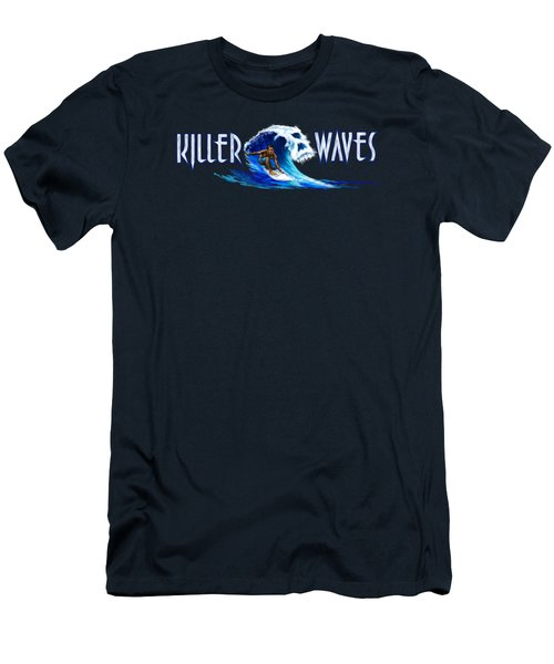 Killer Waves Dude Men's T-Shirt (Athletic Fit)