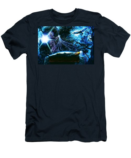 King  Arthur's Death Men's T-Shirt (Athletic Fit)