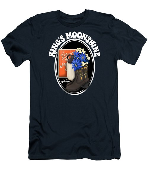 King's Moonshine  Men's T-Shirt (Athletic Fit)