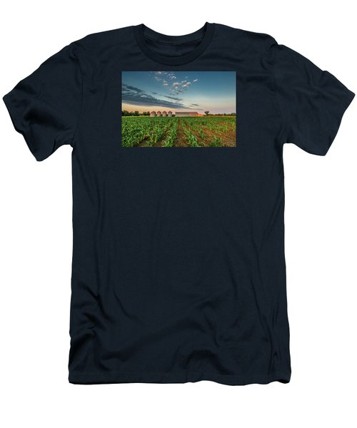 Knee High Sweet Corn Men's T-Shirt (Athletic Fit)