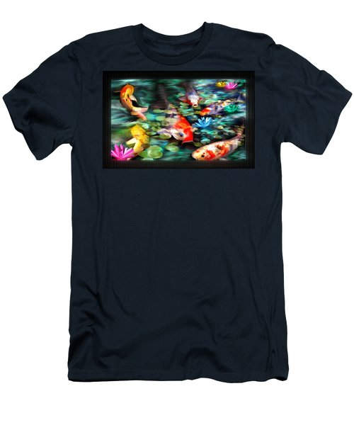 Koi Paradise Men's T-Shirt (Athletic Fit)