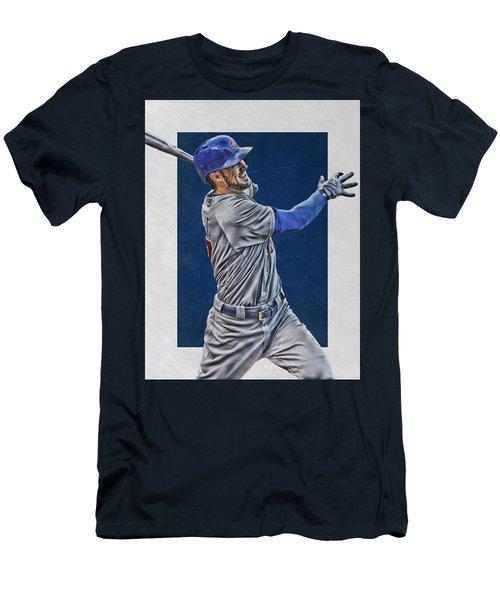 Kris Bryant Chicago Cubs Art 3 Men's T-Shirt (Athletic Fit)