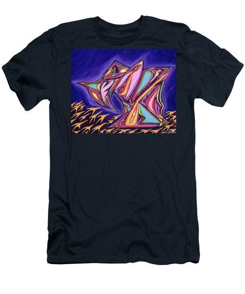 La Machine Nostradamus Men's T-Shirt (Slim Fit) by Robert SORENSEN