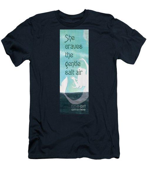 La Mer Mermaid 2 Men's T-Shirt (Athletic Fit)