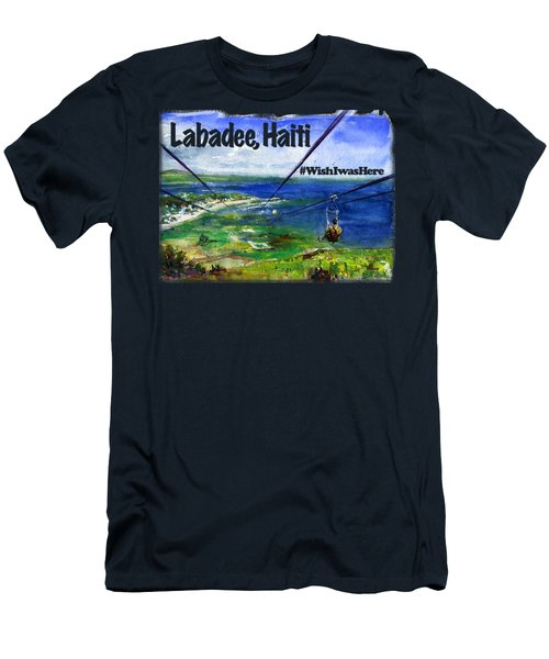 Labadee Haiti Shirt Men's T-Shirt (Athletic Fit)
