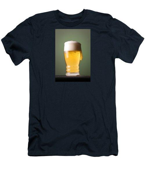 Lager Beer Men's T-Shirt (Slim Fit) by Silvia Bruno