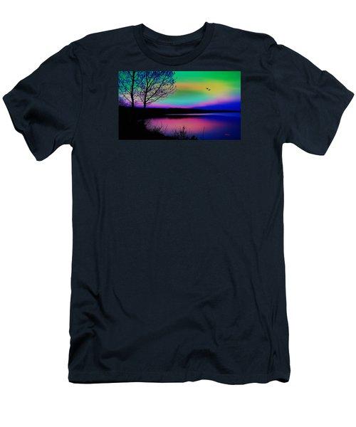 Lake 4 Men's T-Shirt (Athletic Fit)