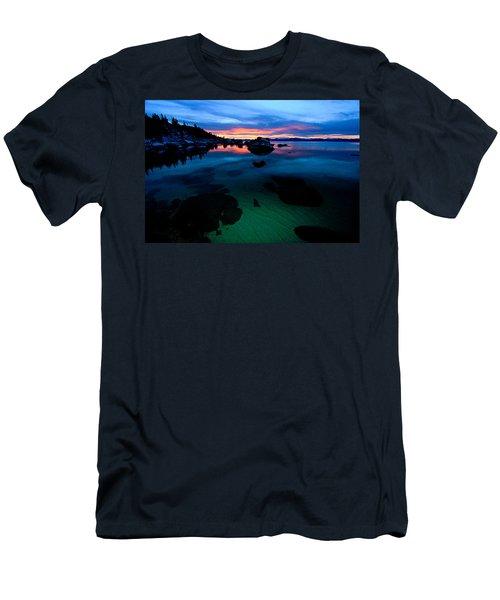 Lake Tahoe Clarity At Sundown Men's T-Shirt (Athletic Fit)