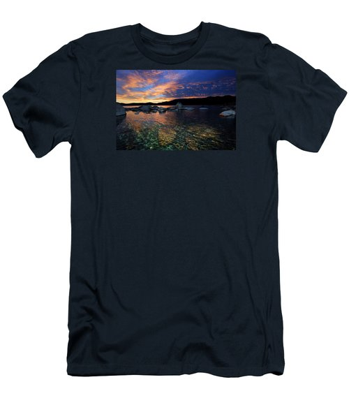 Lake Tahoe Sundown Men's T-Shirt (Athletic Fit)