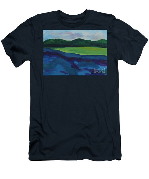 Lake Visit Men's T-Shirt (Athletic Fit)