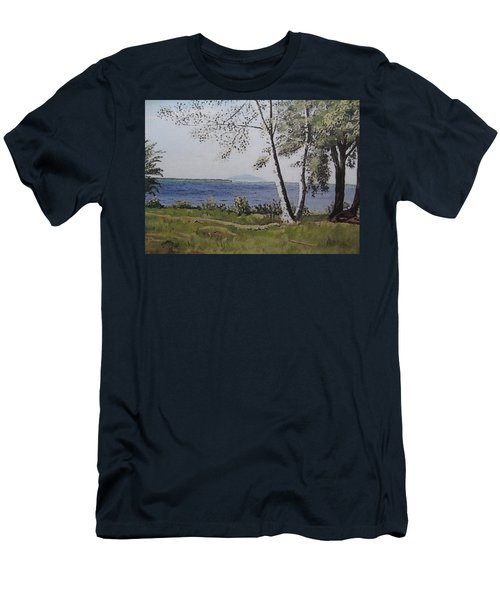 Lakeview Landing Men's T-Shirt (Athletic Fit)
