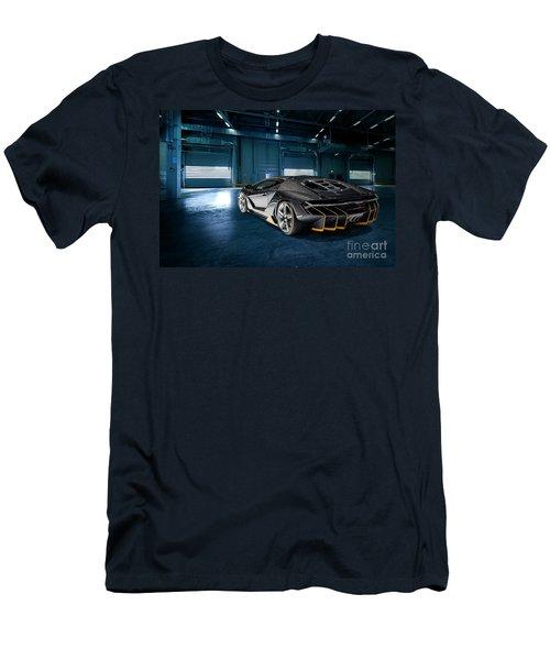 Lamborghini Centenario Lp 770-4 Men's T-Shirt (Slim Fit) by Roger Lighterness