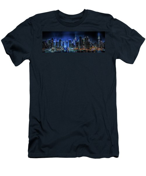 Land Of Tall Buildings Men's T-Shirt (Athletic Fit)
