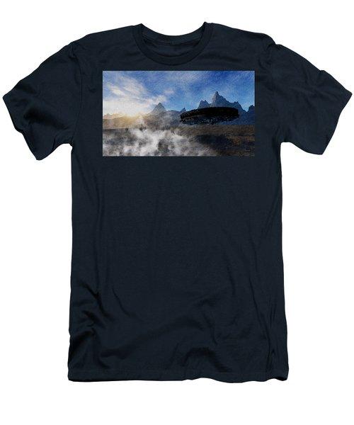 Landing Site Men's T-Shirt (Athletic Fit)