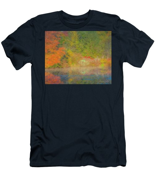 Langwater Pond Boathouse October 2015 Men's T-Shirt (Athletic Fit)