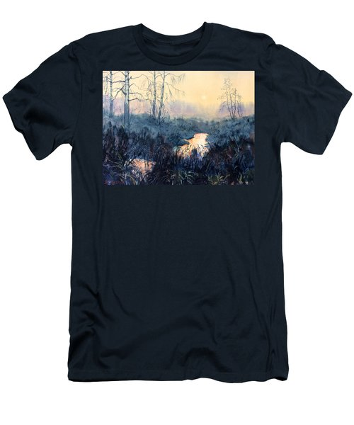 Last Light On Skipwith Marshes Men's T-Shirt (Athletic Fit)