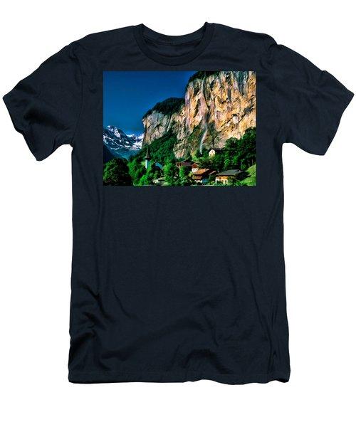 Lauterbrunnen Men's T-Shirt (Athletic Fit)