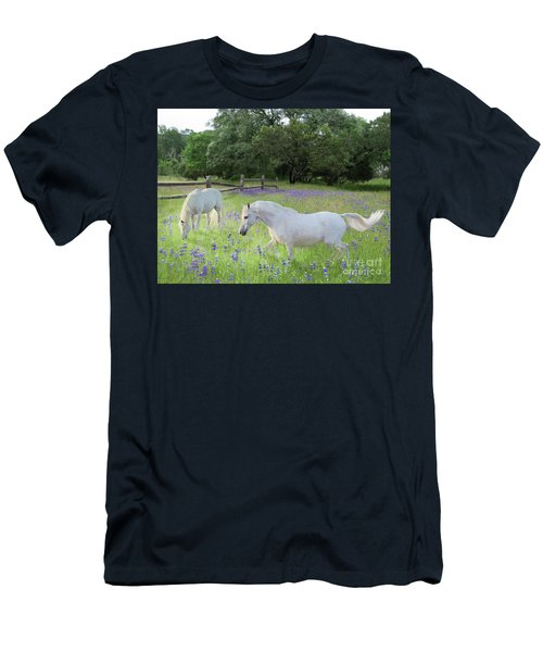 Lavender Pastures Men's T-Shirt (Athletic Fit)
