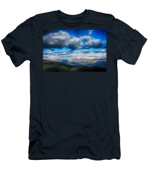 Layers Of Clouds On Mount Evans Men's T-Shirt (Athletic Fit)