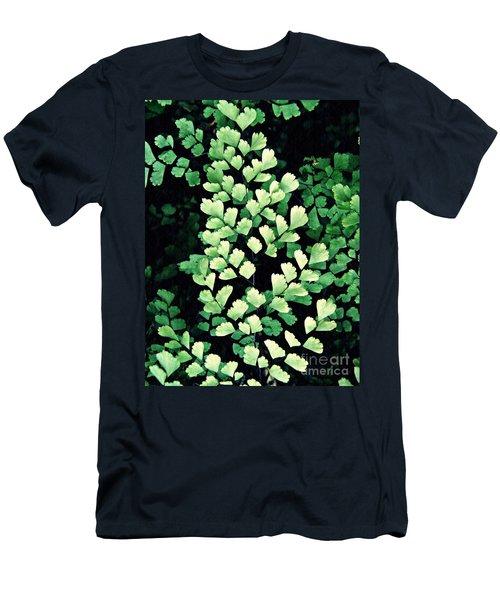 Leaf Abstract 15 Men's T-Shirt (Slim Fit) by Sarah Loft