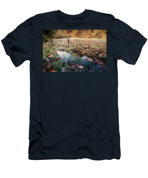 Leaves On The Lake Men's T-Shirt (Athletic Fit)