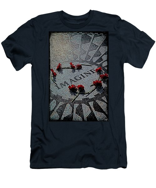 Lennon Memorial Men's T-Shirt (Athletic Fit)