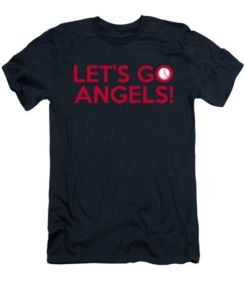 Let's Go Angels Men's T-Shirt (Slim Fit) by Florian Rodarte