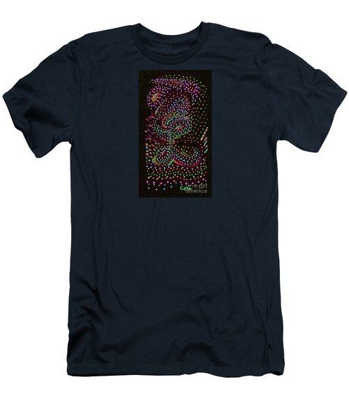 Letter L 3 Men's T-Shirt (Athletic Fit)