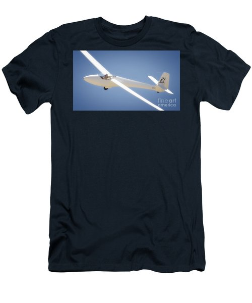 Libelle Sailplane Soaring Men's T-Shirt (Athletic Fit)