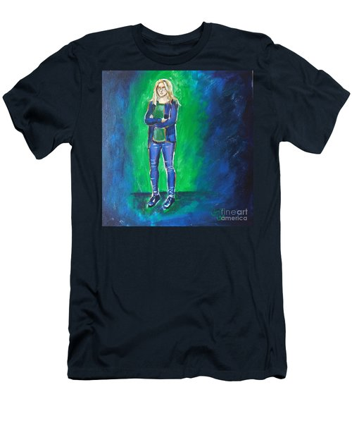 Liesbeth- Painting Class Model Men's T-Shirt (Athletic Fit)