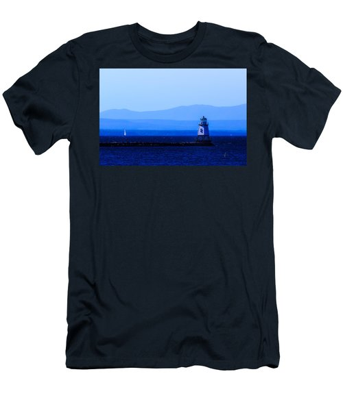 Life Goes On... Men's T-Shirt (Slim Fit) by Craig Szymanski