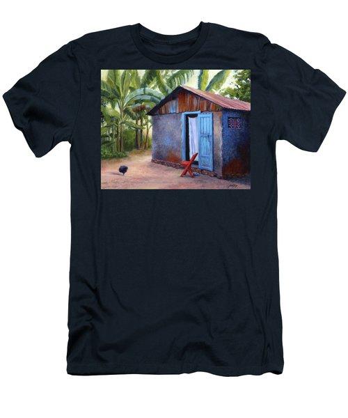 Life In Haiti Men's T-Shirt (Athletic Fit)