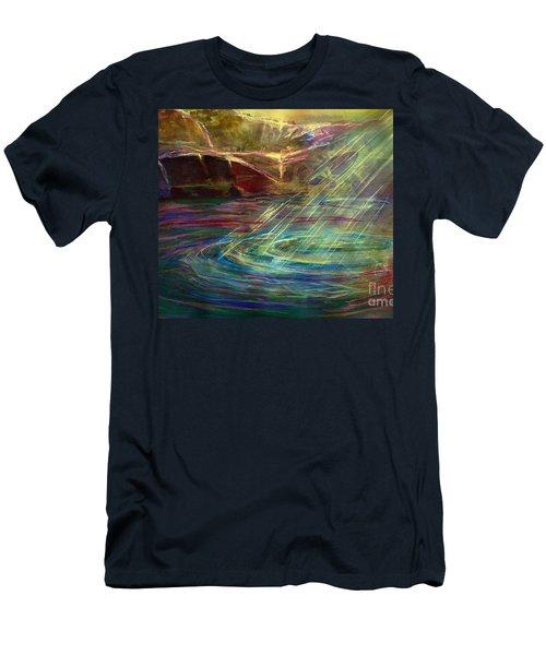 Light In Water Men's T-Shirt (Slim Fit)