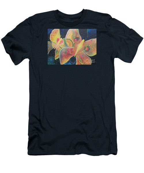 Lighthearted Men's T-Shirt (Slim Fit) by Helena Tiainen