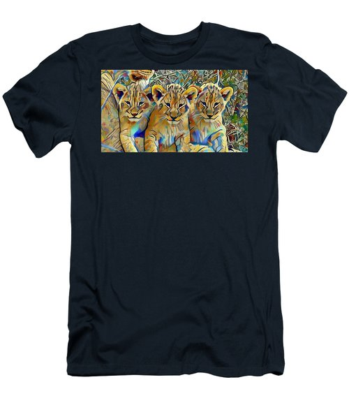 Lion Cubs Men's T-Shirt (Athletic Fit)