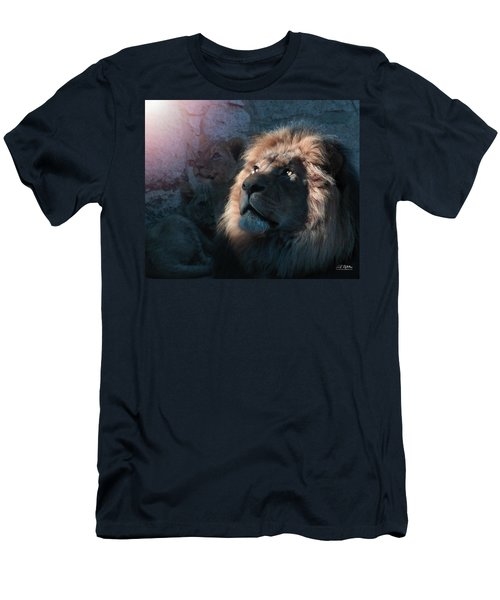 Lion Light Men's T-Shirt (Athletic Fit)