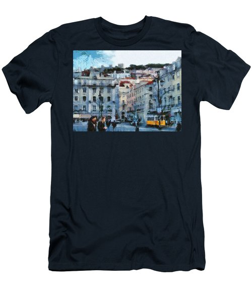 Lisbon Street Men's T-Shirt (Athletic Fit)