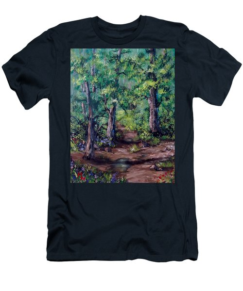 Little Clearing Men's T-Shirt (Slim Fit) by Megan Walsh