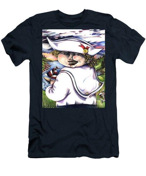 Little Elmo Men's T-Shirt (Athletic Fit)