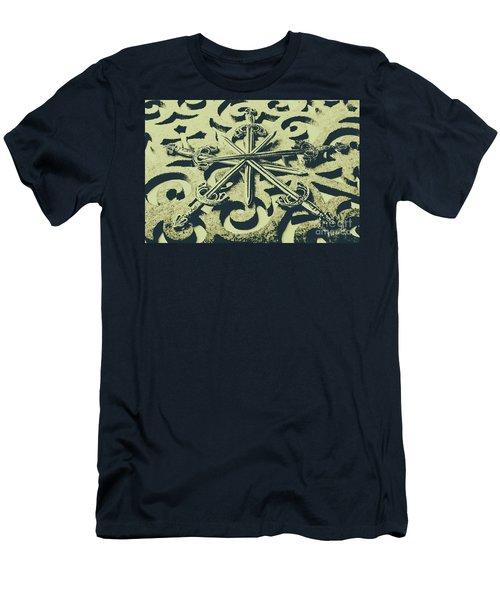 Live By The Sword Men's T-Shirt (Athletic Fit)