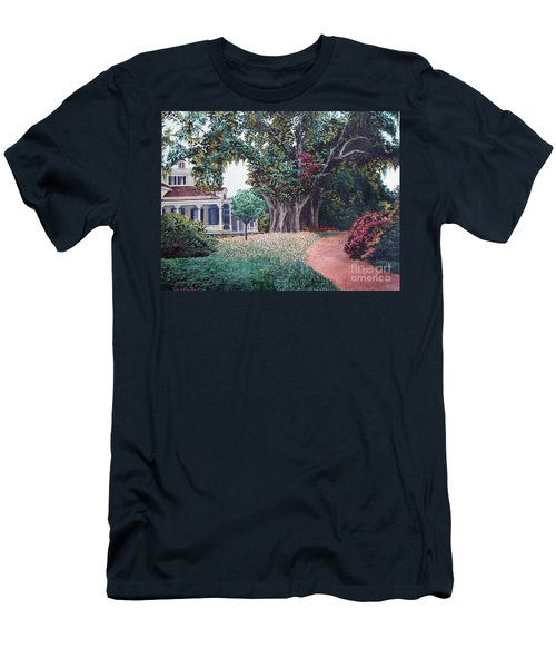 Live Oak Gardens Jefferson Island La Men's T-Shirt (Athletic Fit)