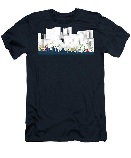 Liverpool Skyline .1 Men's T-Shirt (Athletic Fit)